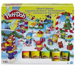 Adventní kalendář s modelínami Play-doh