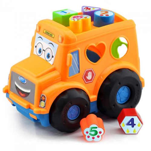 Autobus pro nejmenší s vkládačkou
