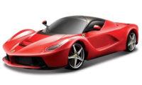 Červené autíčko 1:18 Bburago La Ferrari