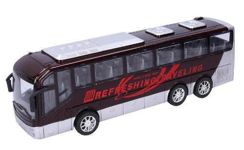 Dětská hračka černobílý autobus
