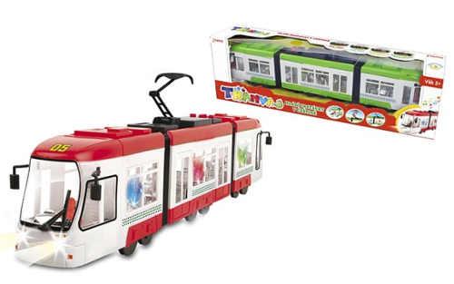 Dětská tramvaj se zvuky a světlem