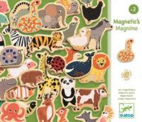 Dřevěné magnetky zvířátka 36 kusů
