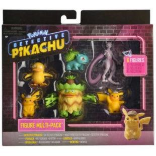 Figurky Pokémon - detektiv Pikachu 6 ks