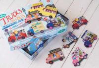 Pexeso Náklaďáky a autobusy ze silného papíru