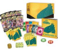 Velká sada Pokémon TCG SWSH02 Rebel Clash Elite Trainer Box