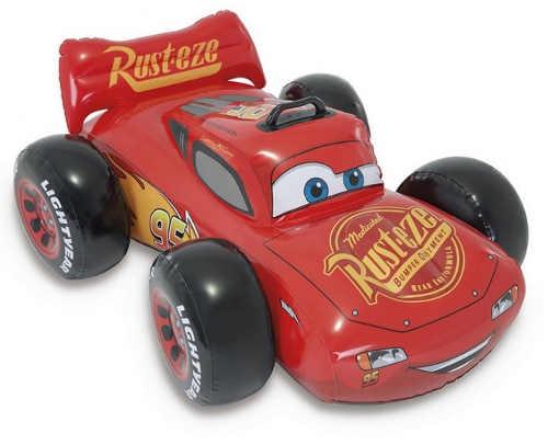 Velké nafukovací závodní autíčko