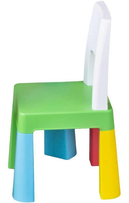 Barevná plastová dětská židlička