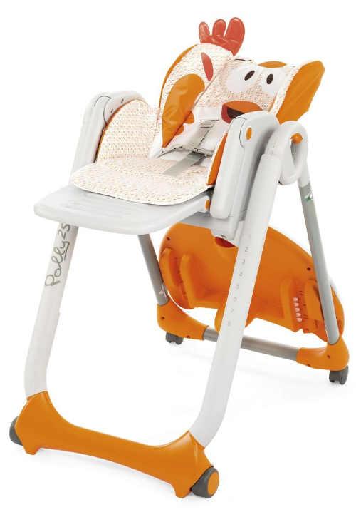 Dětská židlička s nastavitelnou opěrkou zad