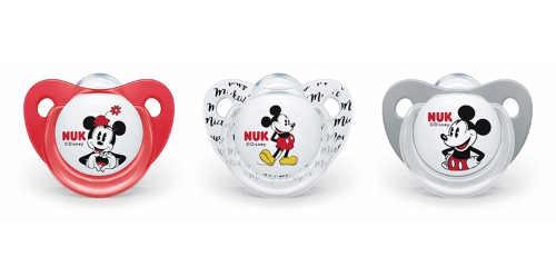 Dětské dudlíky Mickey Mouse