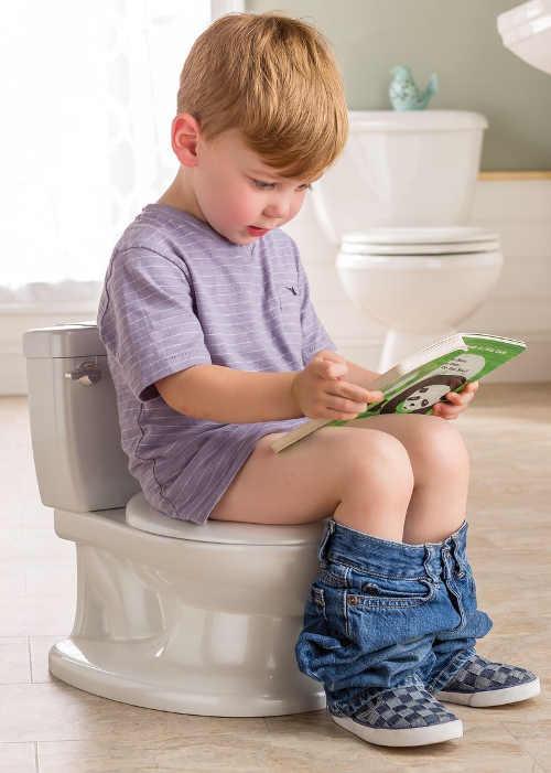 Dětský nočník imitace WC se splachováním