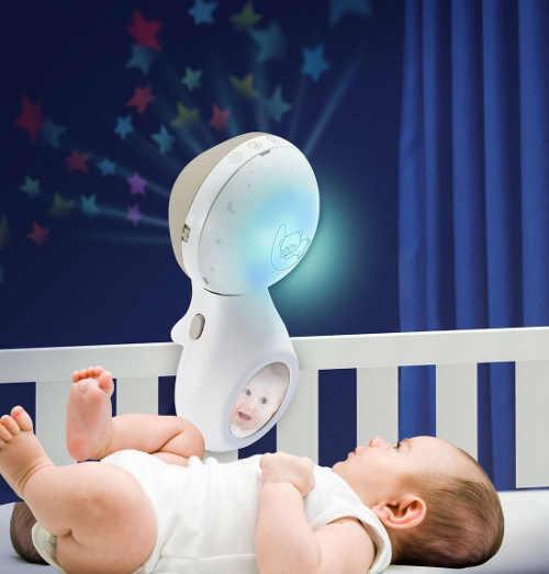 Kolotoč lze využít jako lampičku s projektorem