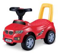 Levné dětské drážedlo auto s opěradlem