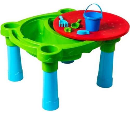 Plastový dětský stůl s pískovištěm