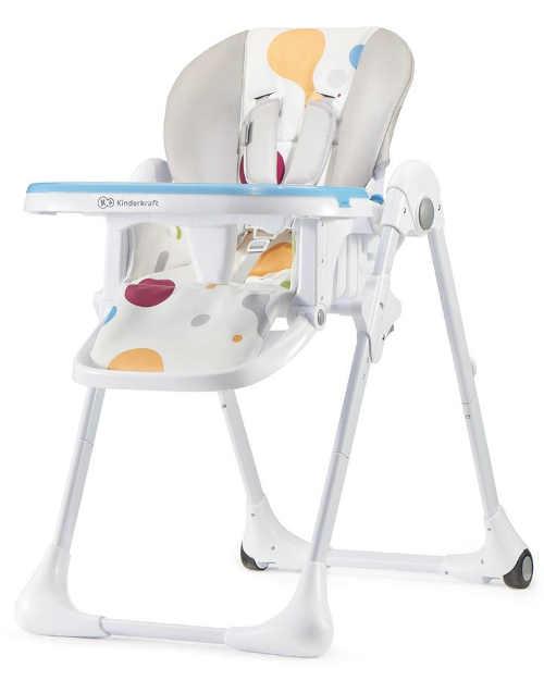 Stabilní a pohodlná jídelní židlička Yummy multi Kinderkraft