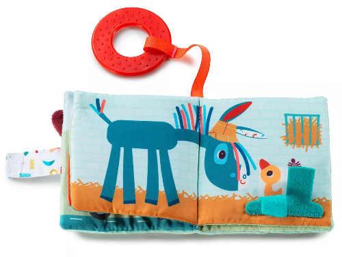 Textilní knížka pro miminka s krásnými ilustracemi