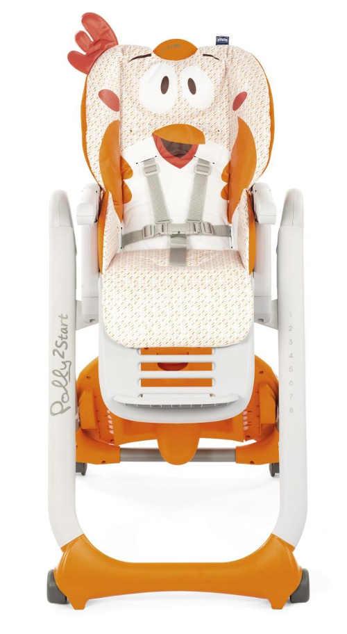 Univerzální dětská jídelní židlička pro kluka i pro holku