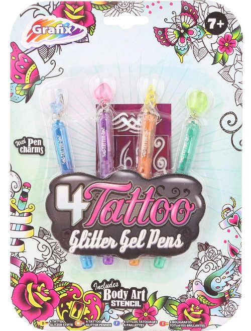 Dětská tetovací gelová pera