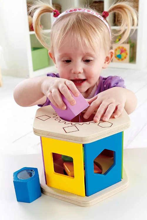 Montessori dřevěná vkládačka pro děti