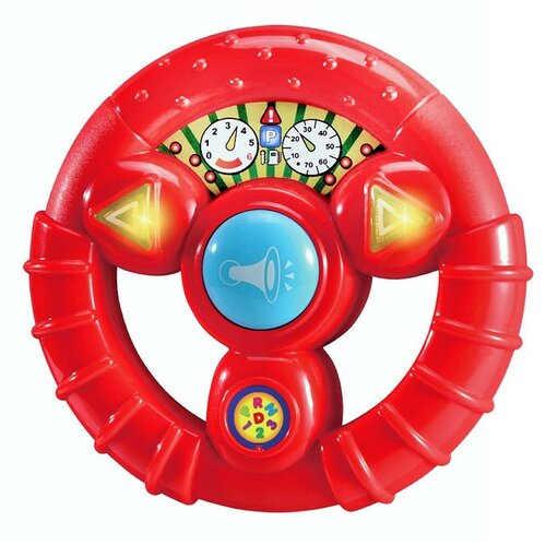 Červený dětský volant se zvukem