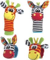 Chrastící ponožky a náramky pro miminka