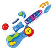 Dětská hrací kytara Bayo se světlem a zvuky