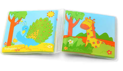 Dětská pískací knížka zvířata v Africe