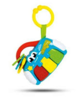 Dětské hrací pianko závěsné na kočárek