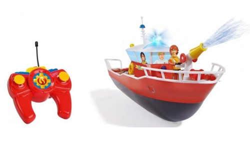 Hasičský člun Požárník Sam na dálkové ovládání