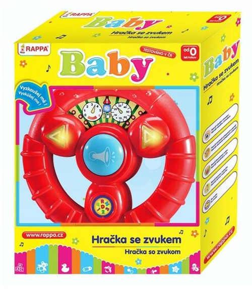 Interaktivní hračka pro nejmenší volant se zvuky