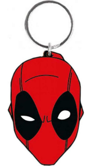 Klíčenka gumová Deadpool