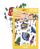 Klučičí dětské tetování Djeco Bang Bang