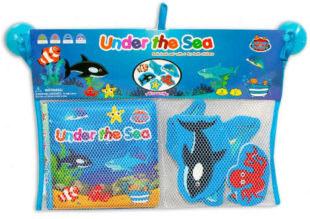 Krásné vodolepky do koupele - Mořská zvířátka