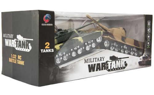 Levné dva RC tanky pro vojenskou bitvu