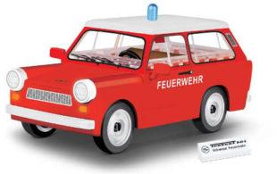 Model Trabant 601 Hasiči Cobi Youngtimer
