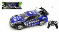 Modré závodní RC Auto 25cm na baterie