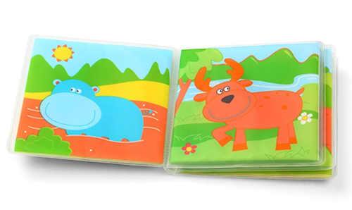 Pestrobarevná pískací knížka se zvířátky