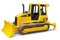 Plastový buldozer na písek Bruder Cat