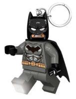 Přívěšek na klíče svítící figurka LEGO DC Super Heroes Grey Batman