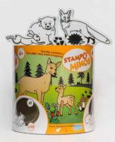 Razítka pro děti s lesními zvířátky
