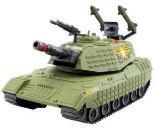 Tank nebo obrněné vozidlo The Corps! s efekty