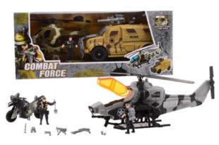 Velká vojenská hrací sada Combat force