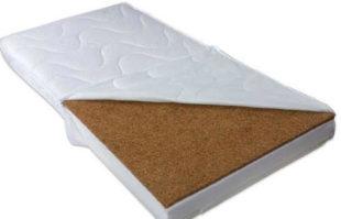 Luxusní dětská pěnová matrace s kokosem