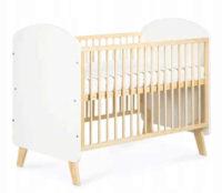 Moderní dřevěná dětská postýlka Charlie 120x60