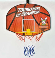 Basketbalový koš na zeď z odolného plastu