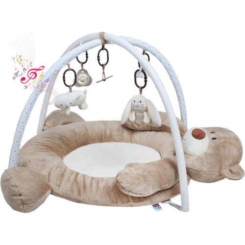 luxusní hrací deka ve tvaru medvěda