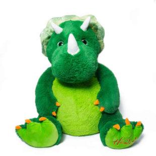 Velký roztomilý plyšák dinosaurus