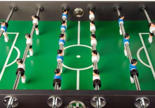 hra stolní fotbal v černém provedení